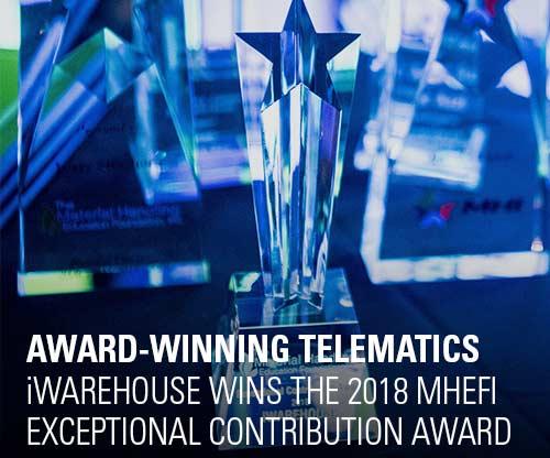 iWAREHOUSE Wins 2018 MHEFI Exceptional Contribution Award