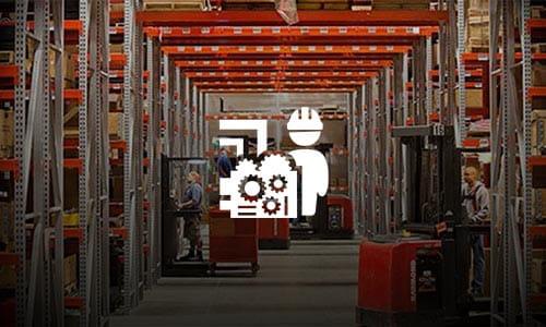 Labor Productivity, forklifts, warehouse associates