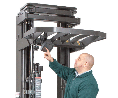 iwarehouse, integrated forklift operator display