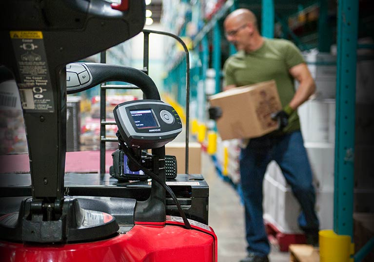 iwarehouse, forklift access control