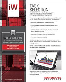 task selection, iwarehouse