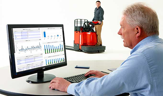iWAREHOUSE, forklift fleet management, i-warehouse