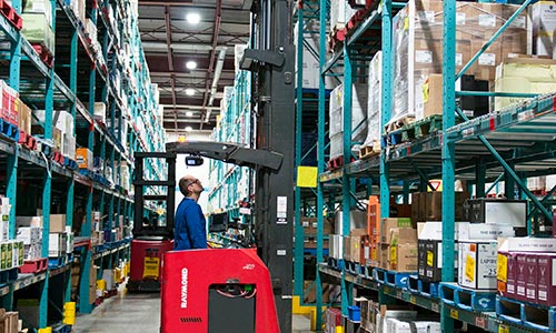 iwarehouse, fleet management, reach truck