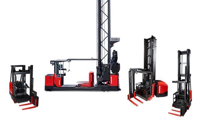 Turret Trucks, turret forklift, high lift forklift